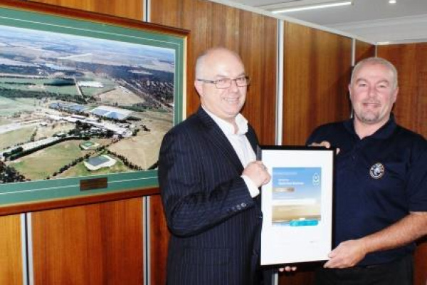 WATERWISE Award for WAMMCO image