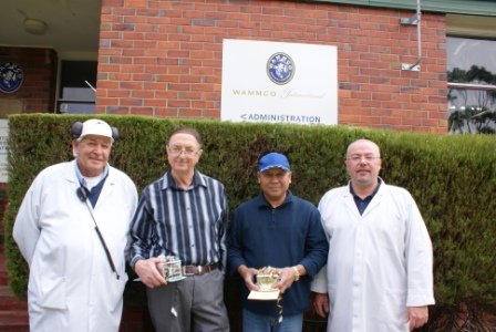 WAMMCO Retirees From Diverse Backgrounds