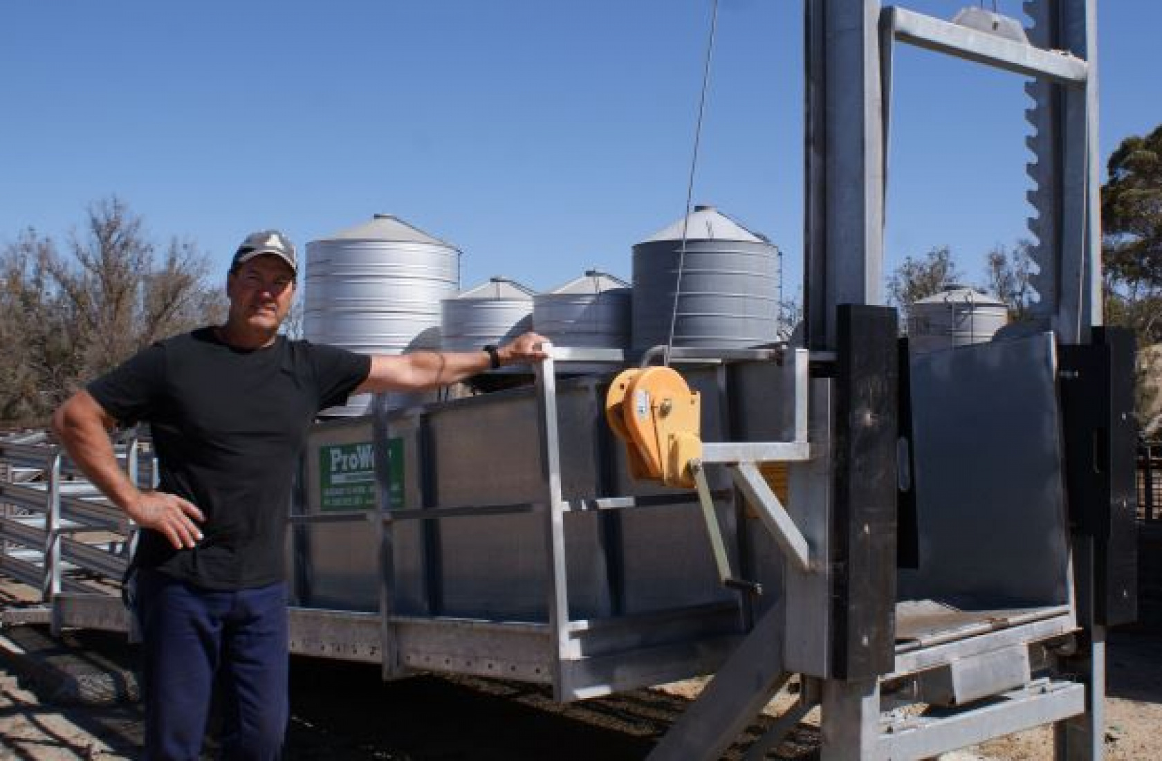 Wool/Lamb Mix Delivers For Brookton Producer
